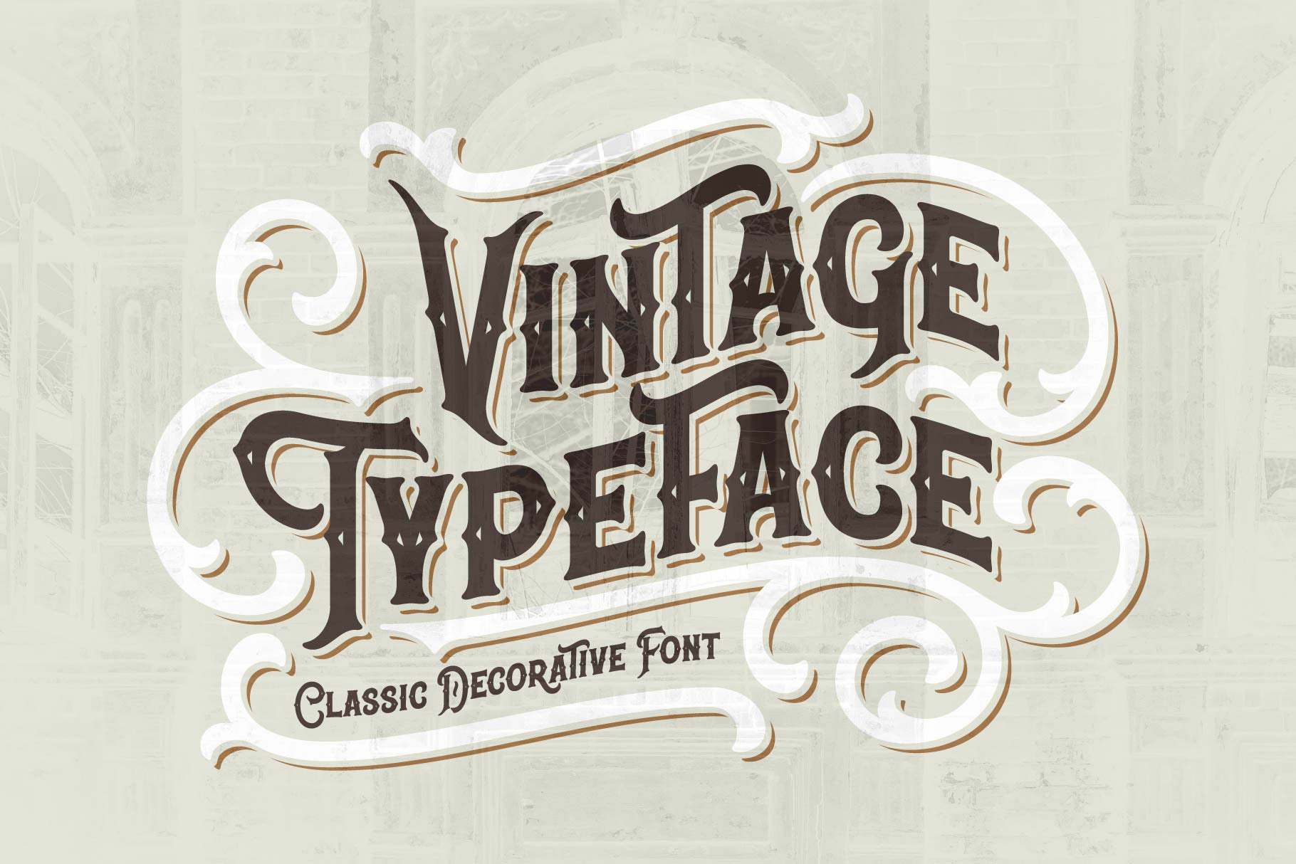 Classic Heritage typeface example image 2