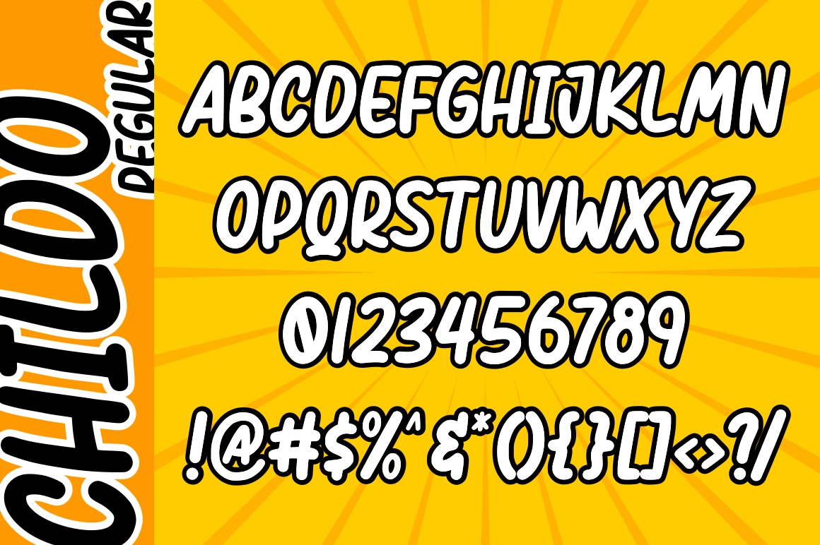 Childo || Funny Font example image 9