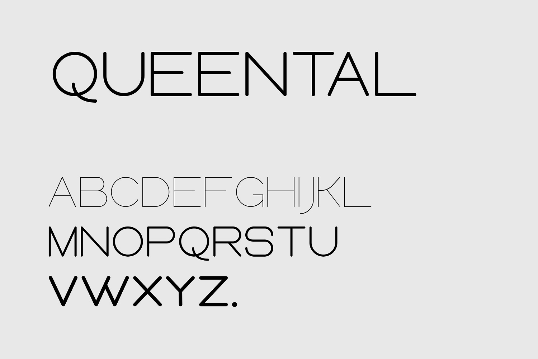 Queental - Elegant Sans Font Family example image 5