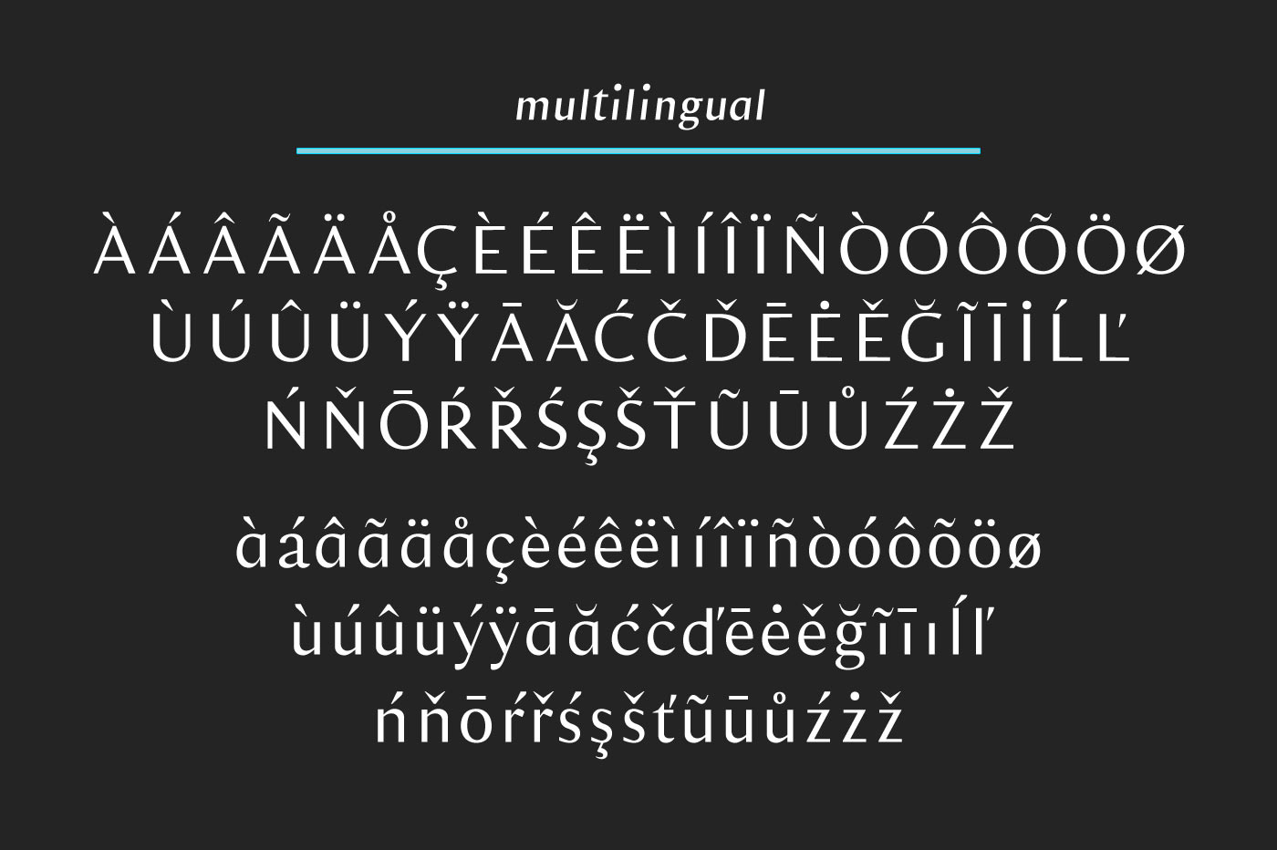 Veitari Typeface example image 8