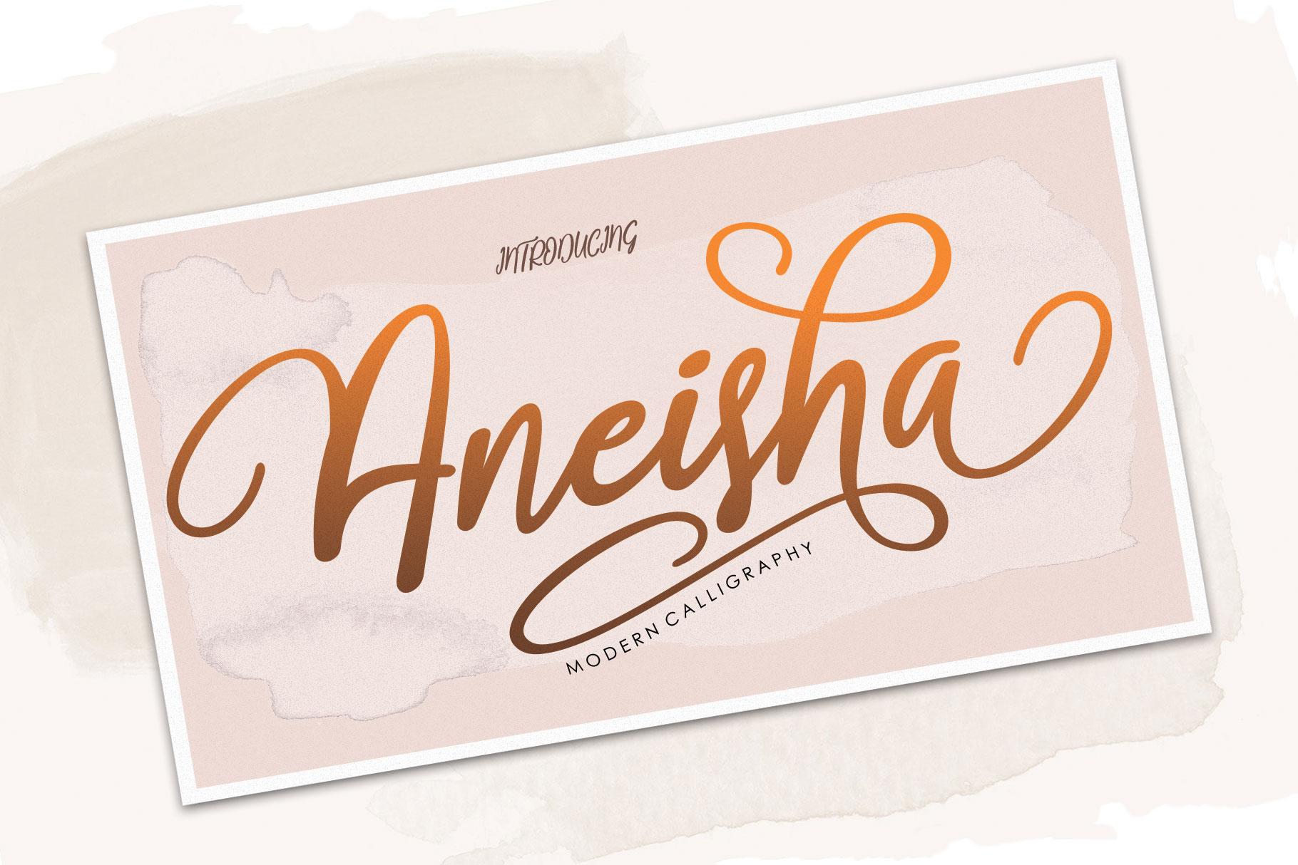 Aneisha Script example image 7