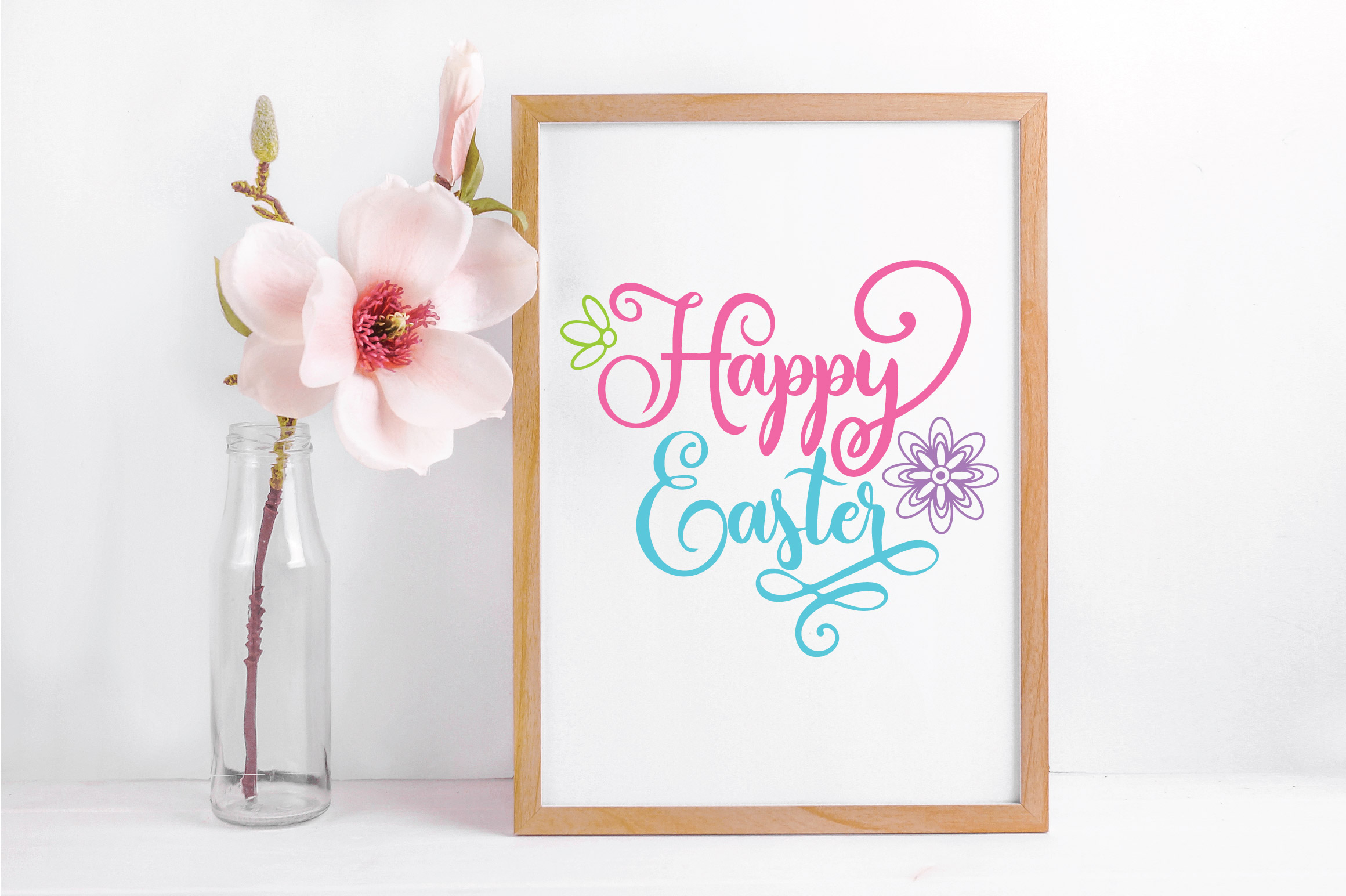 Easter SVG Cut File - Happy Easter SVG DXF EPS PNG JPG AI example image 4
