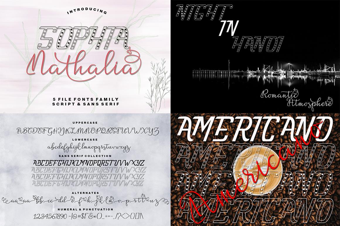 The Amazing Font Bundle - Vol II example image 10