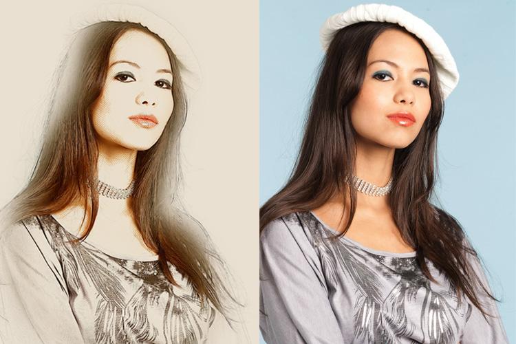 Mix Art Photoshop Action example image 13