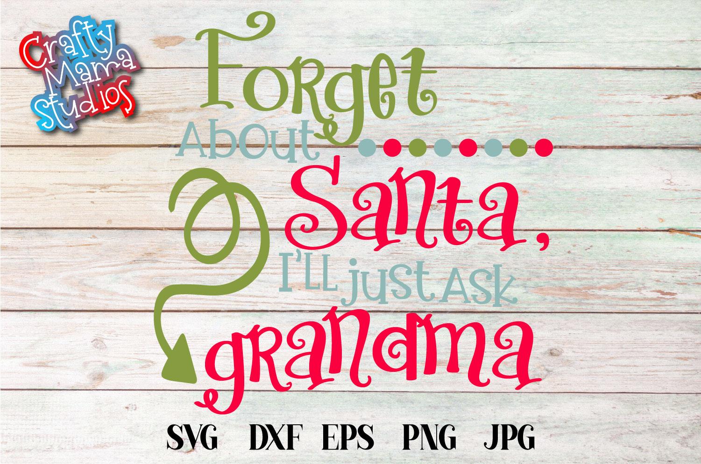 Christmas SVG, Grandma Claus, Grandma Christmas Bundle SVG example image 2