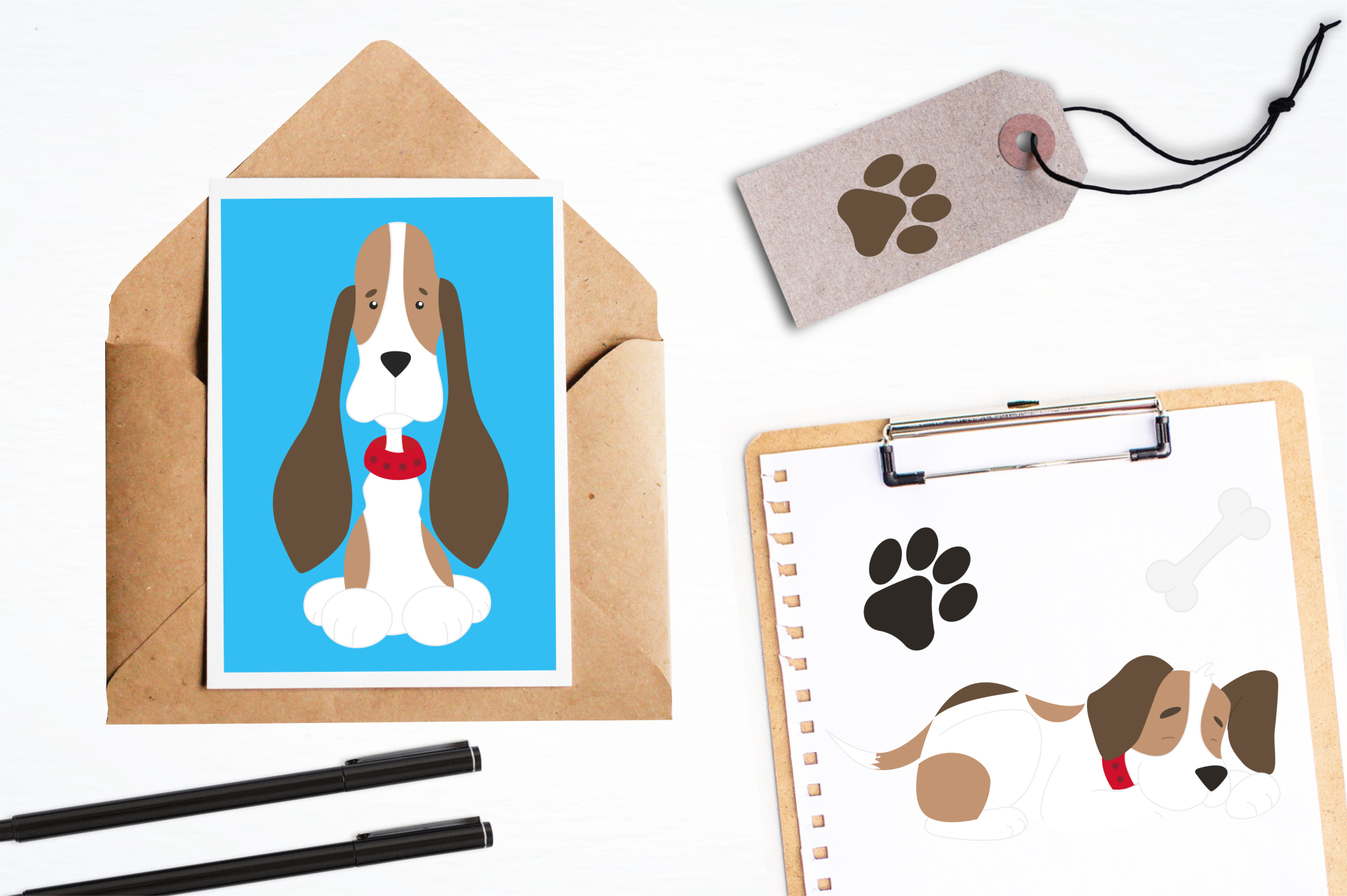Beagle Love graphics and illustrations example image 4