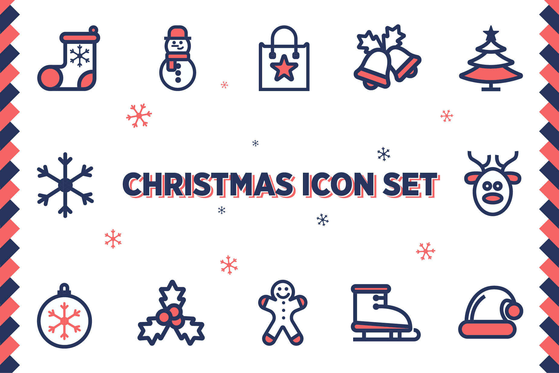 Christmas Icon Set example image 1