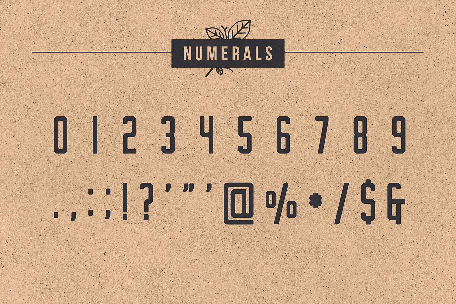 Nomads -The Farmer Original Typeface example image 12