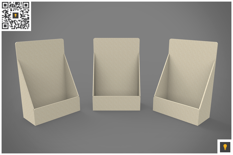 Table Top Display 3D Render example image 10