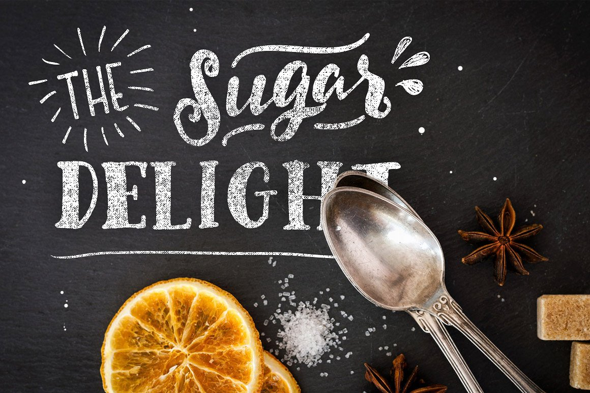 Delight Font Pack & Extra example image 4
