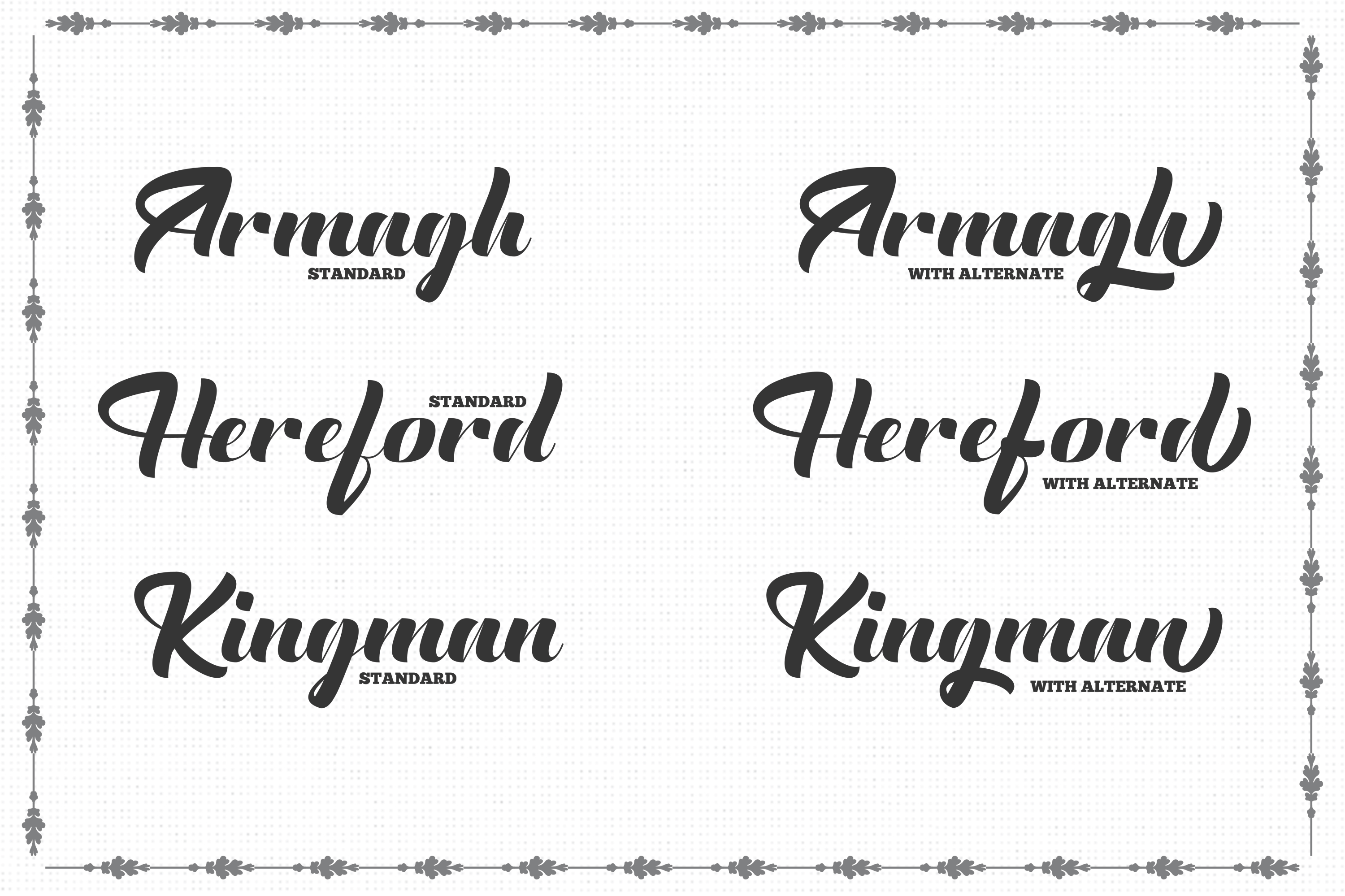 The English Font - Vintage Lettering example image 2