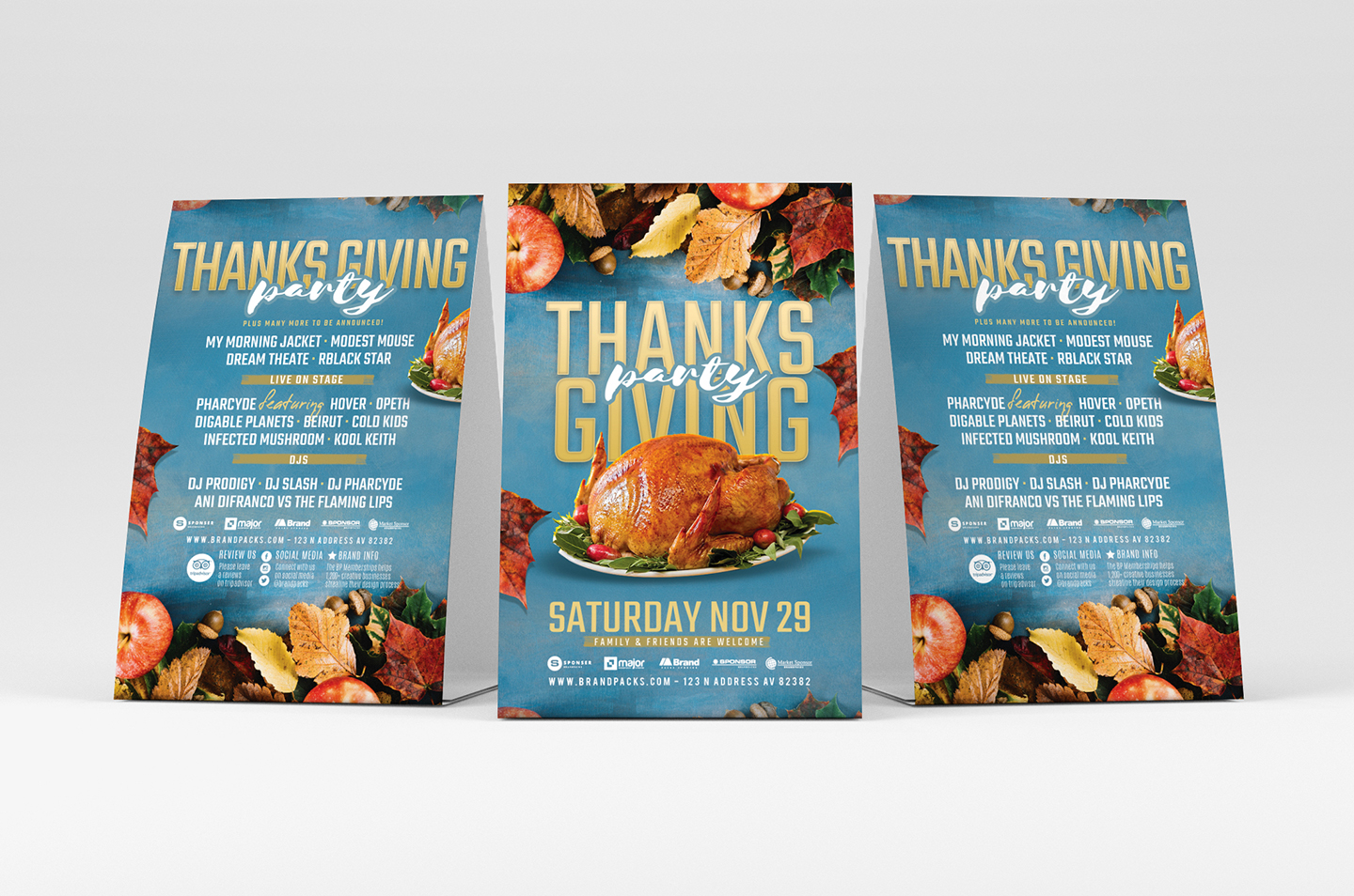 Thanksgiving Flyer Template example image 3