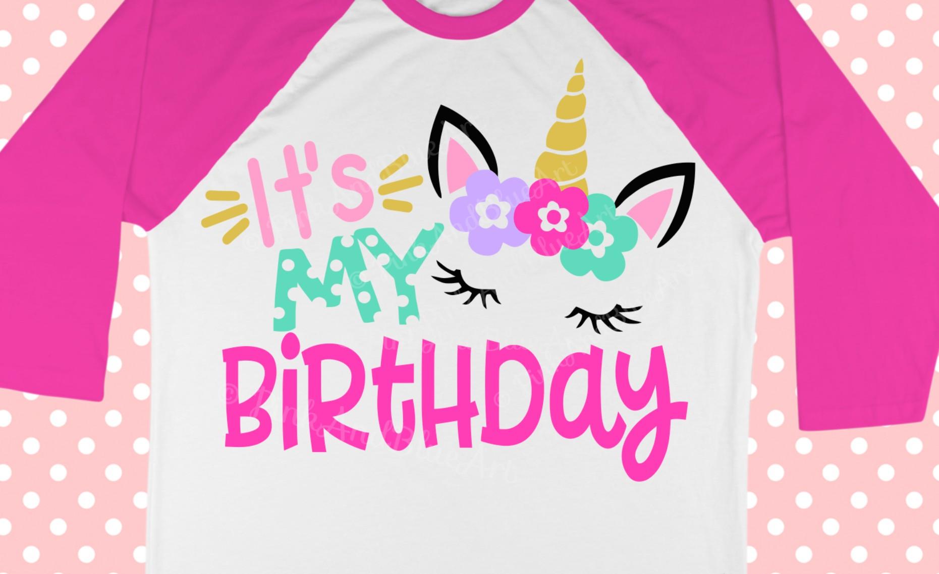 Unicorn Head Unicorn Birthday Svg Unicorn Birthday Cricut 2 Years Old Unicorn Birthday Unicorn Birthday Design Unicorn Birthday Shirt