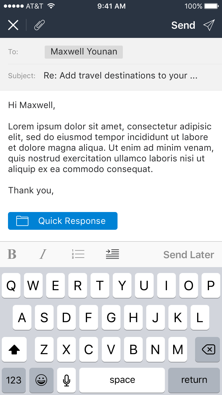 Snooze Mail UI Graphic example image 10