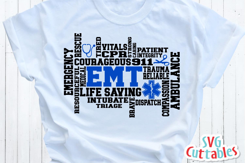 Paramedic / EMT Bundle 1 | SVG Cut File example image 18