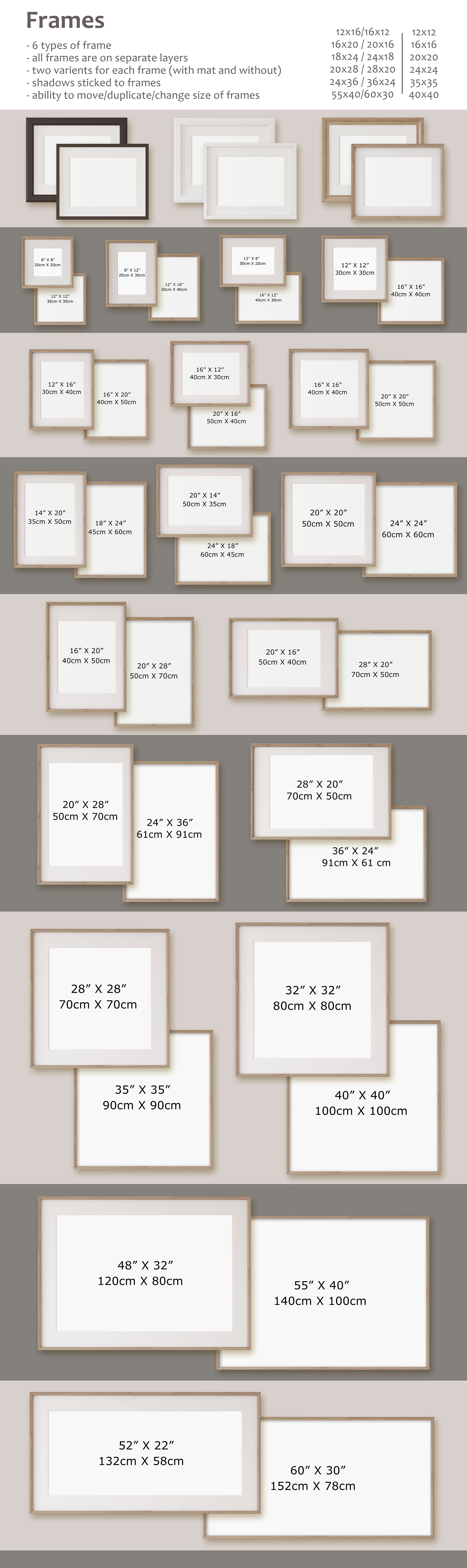 Home office. Frames&Canvases Mockup. example image 5