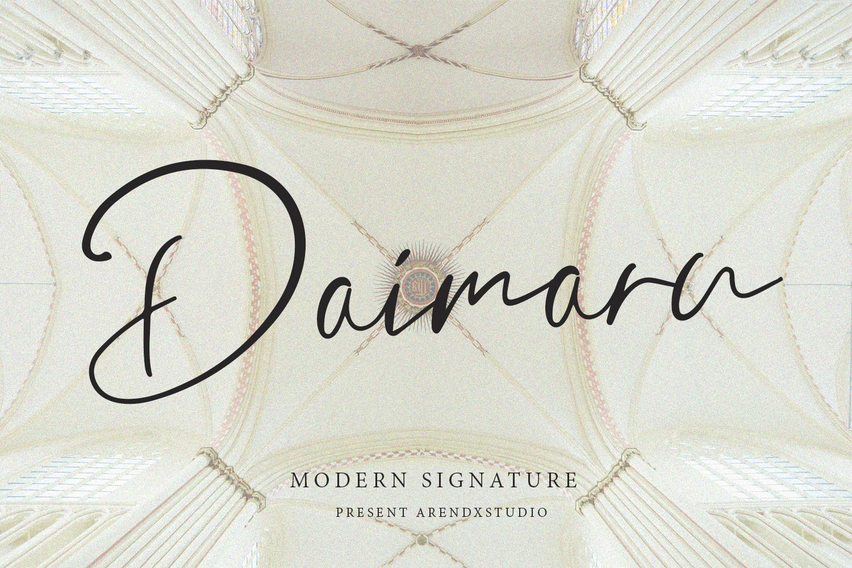 Daimaru Modern Signature example image 1