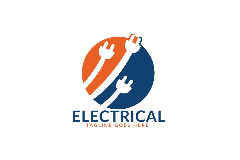 Electrical Plug Logo Design. Power Energy Symbol. example image 1