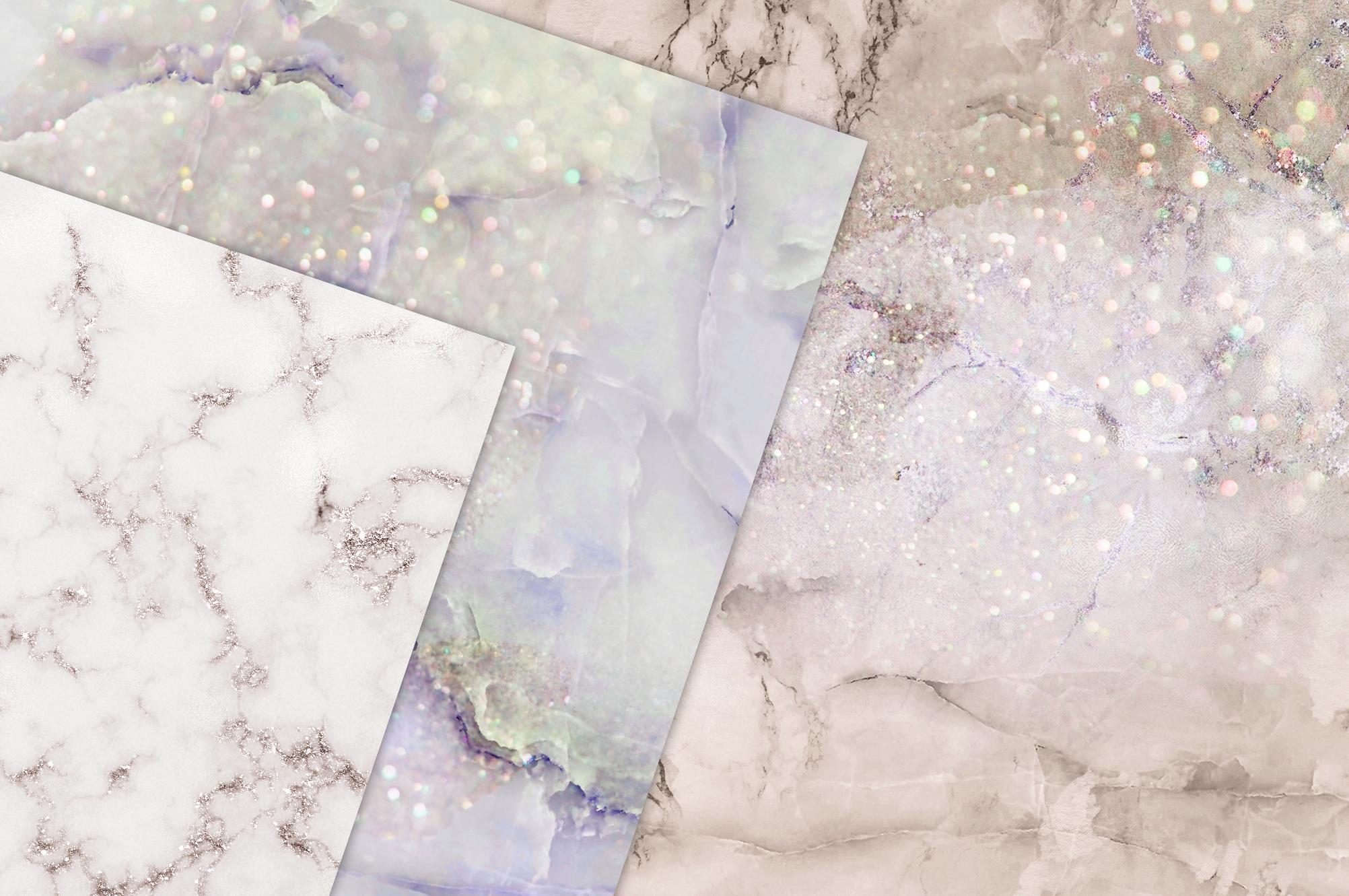 Marble Digital Paper BUNDLE example image 3