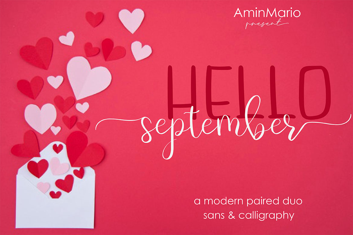 Hello September - A MODERN PAIRED DUO example image 15