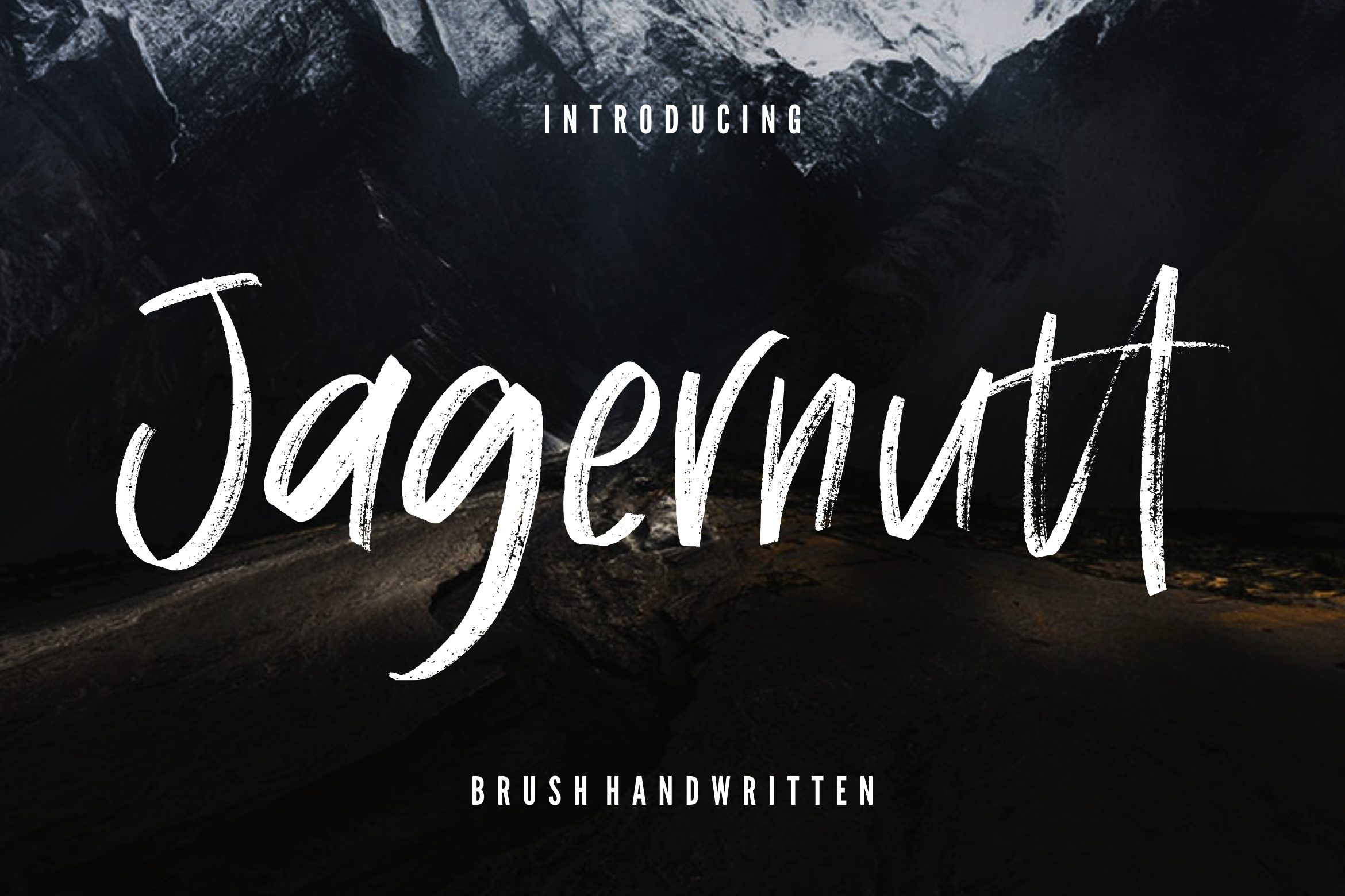 Jagernutt Brush Handwritten example image 1