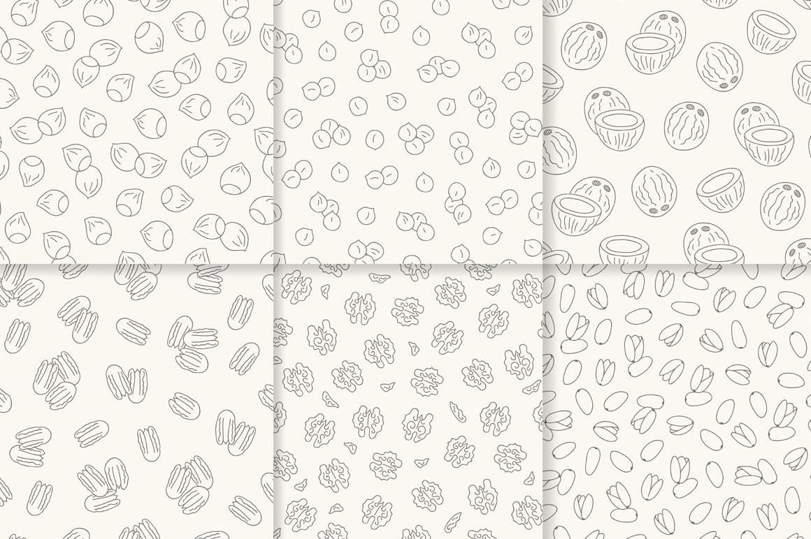 12 Nuts - Illustration & Patterns example image 2