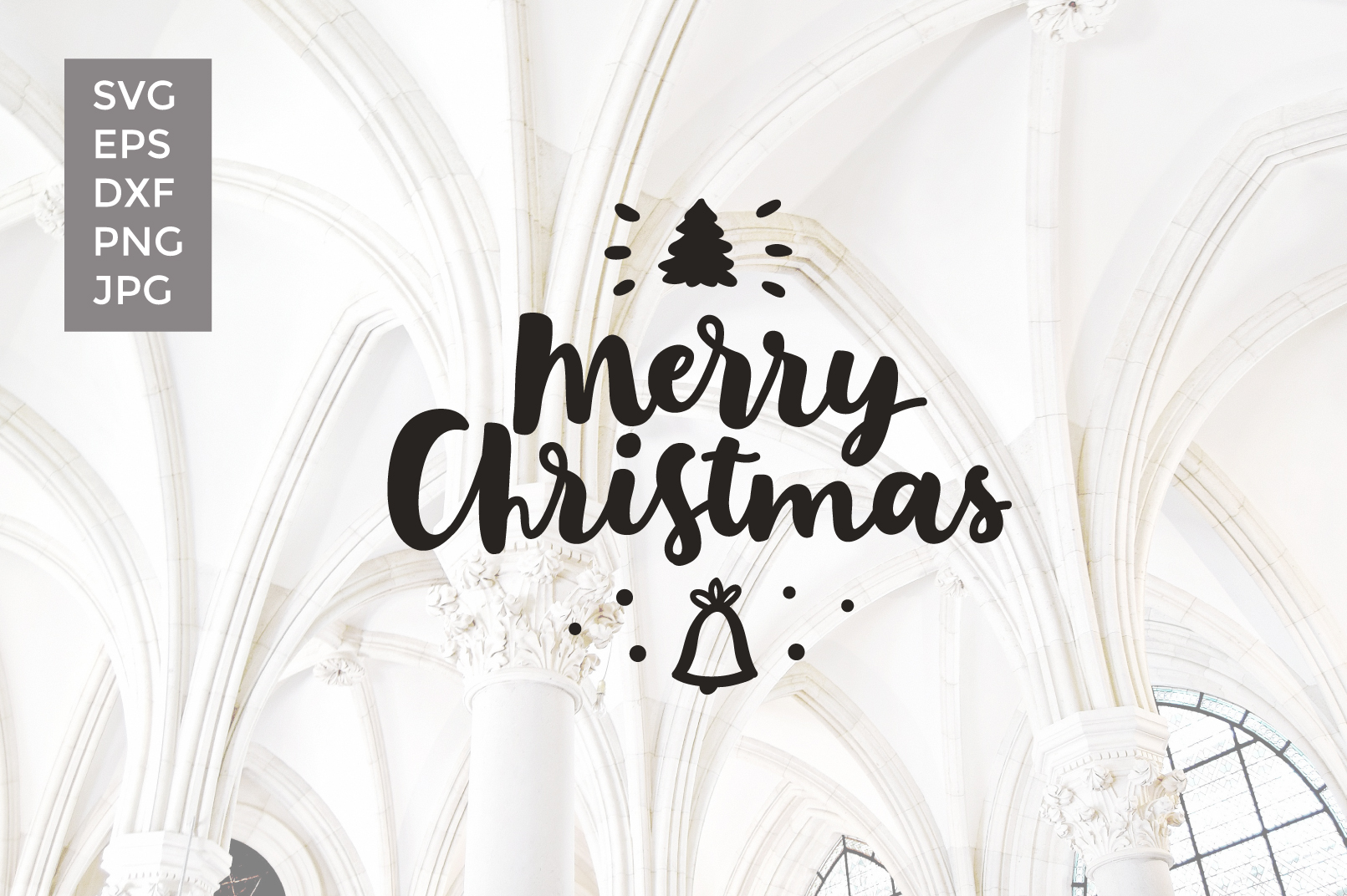 12 Christmas Vector Cut files example image 8
