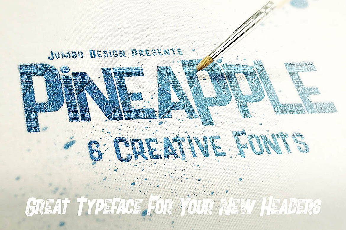 Pineapple - Funny Style Font example image 3