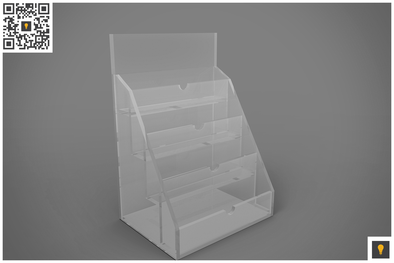 Business Card Holder 3D Render example image 2