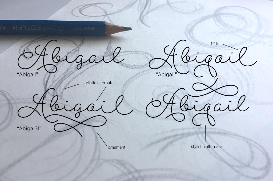 Abigail Script example image 4