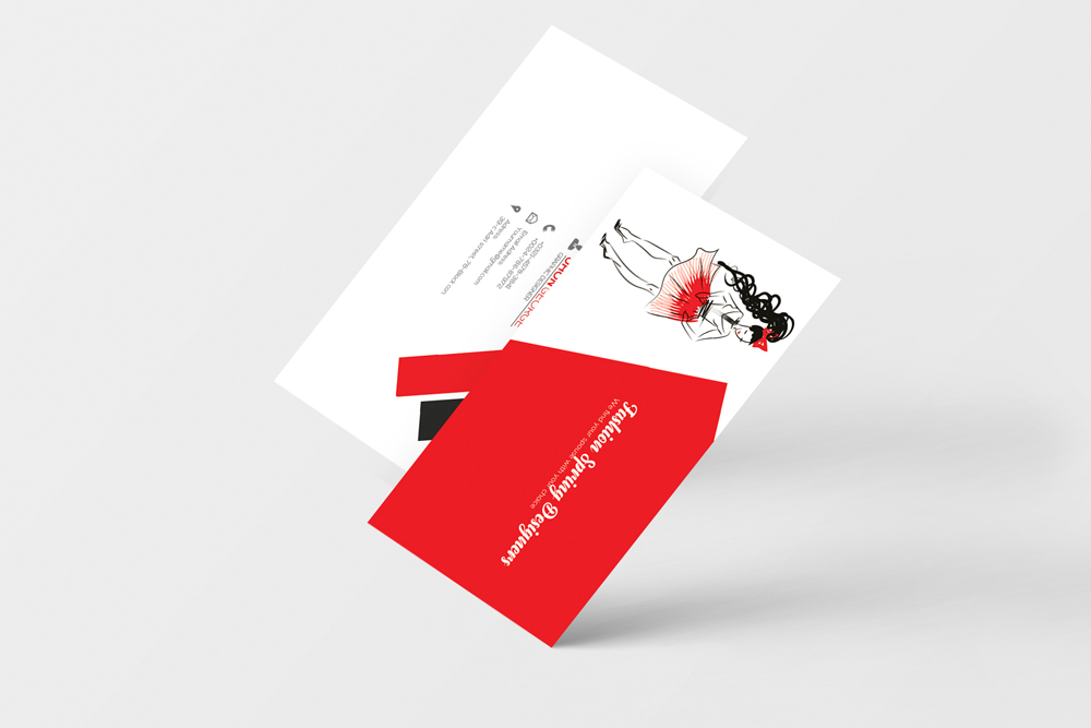 Fashion Designer Business Card  example image 2