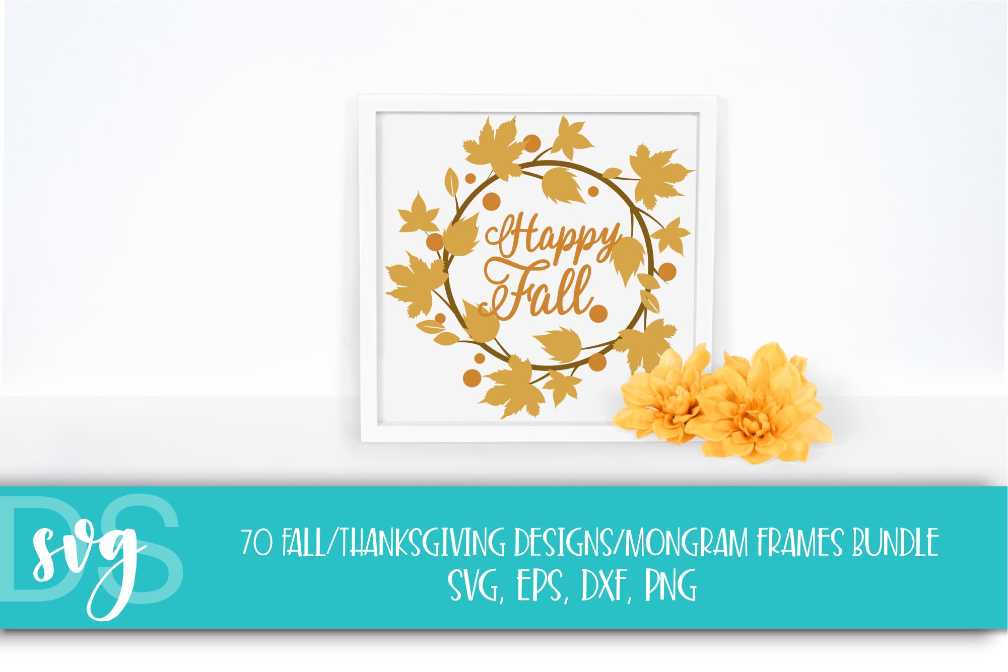 Fall, Pumpkin, Halloween, SVG, PNG, Thanksgiving Bundle, example image 4
