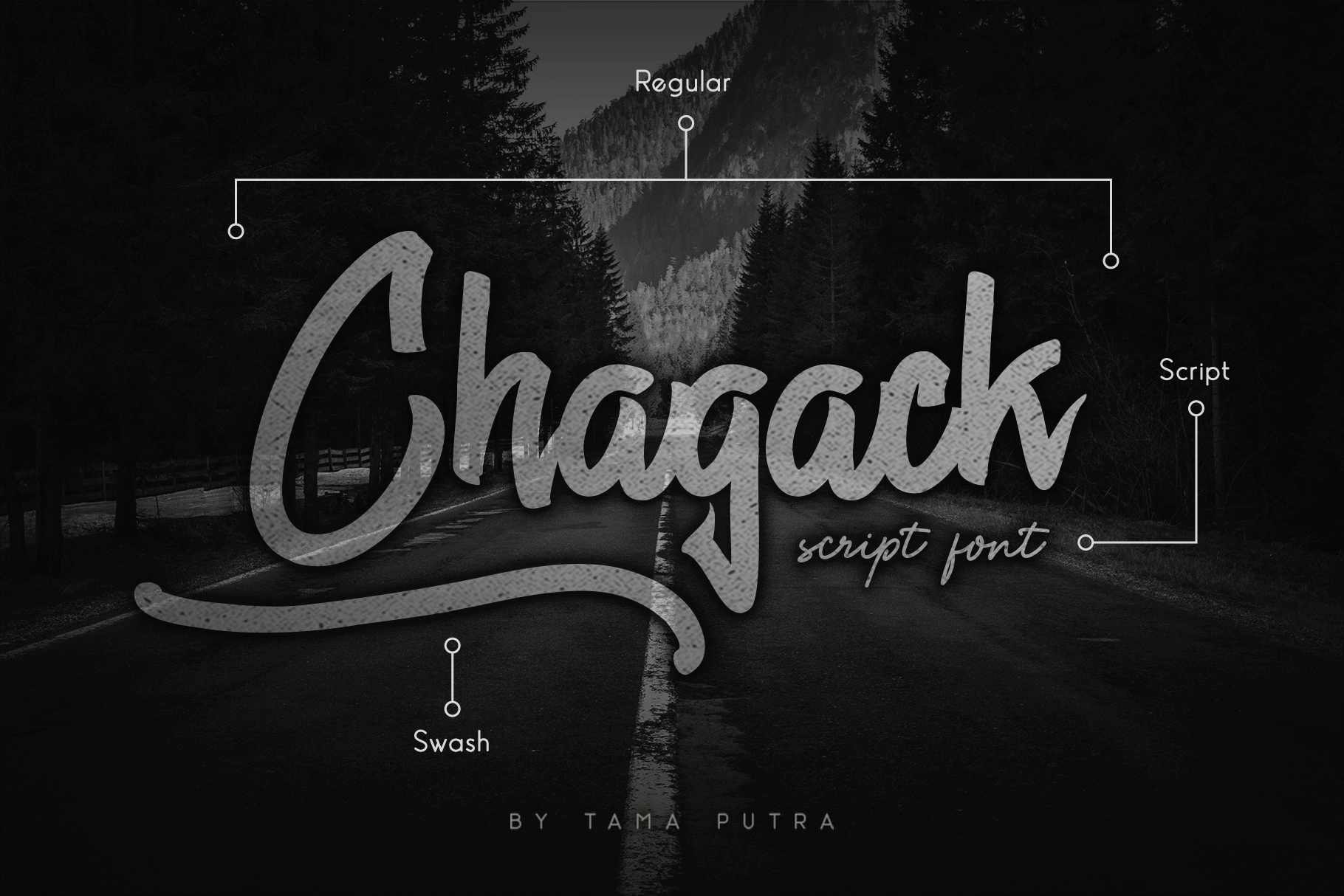 Chagack Script Font Duo example image 1