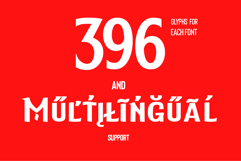 Elderweiss - An Experimental Sans Serif example image 3