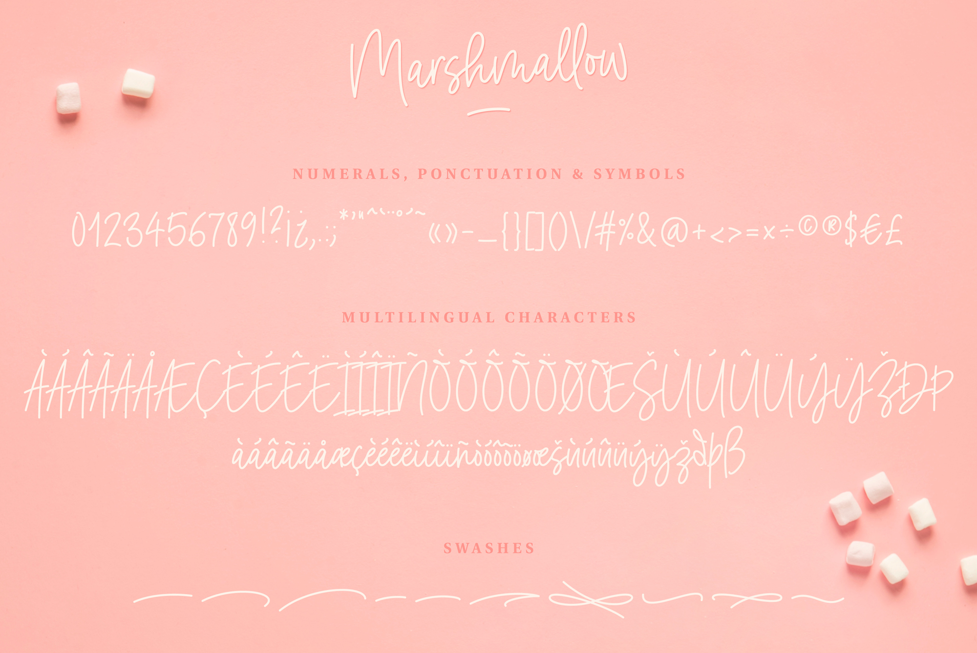 Marshmallow Handwritten Font example image 8