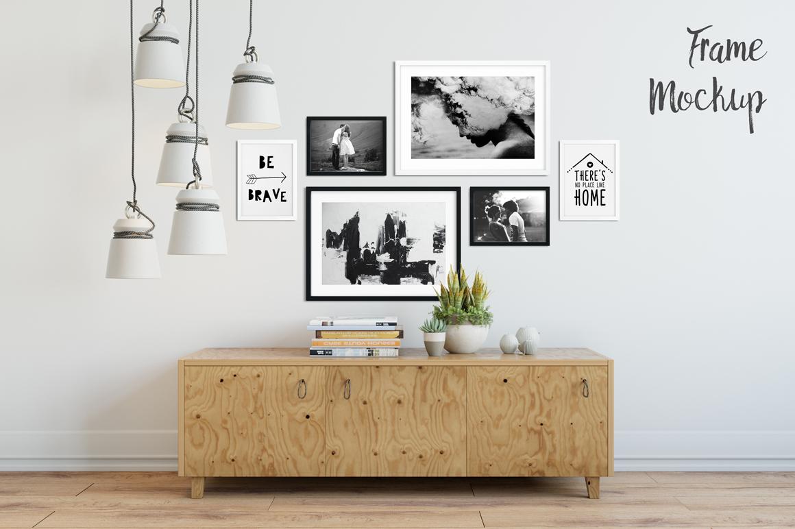 Frame Mockup Bundle Vol. 2 example image 4