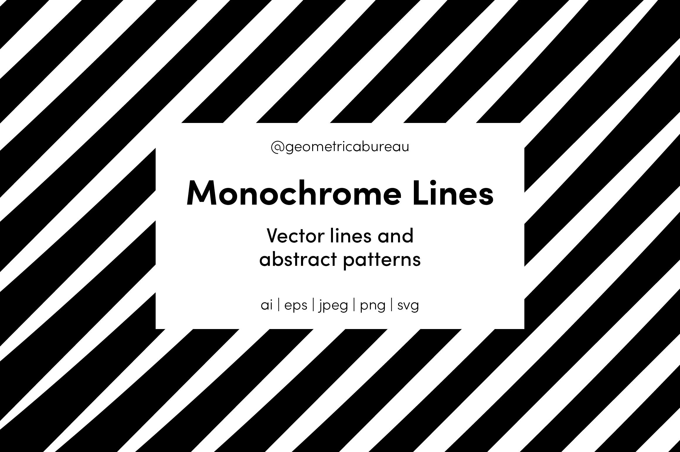 Monochrome Lines example image 1