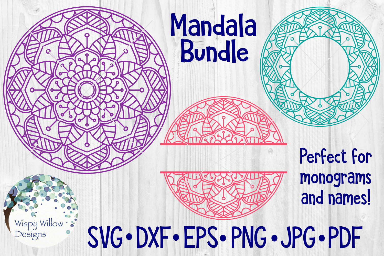 Huge Mandala Bundle | 36 SVG Cut Files example image 5
