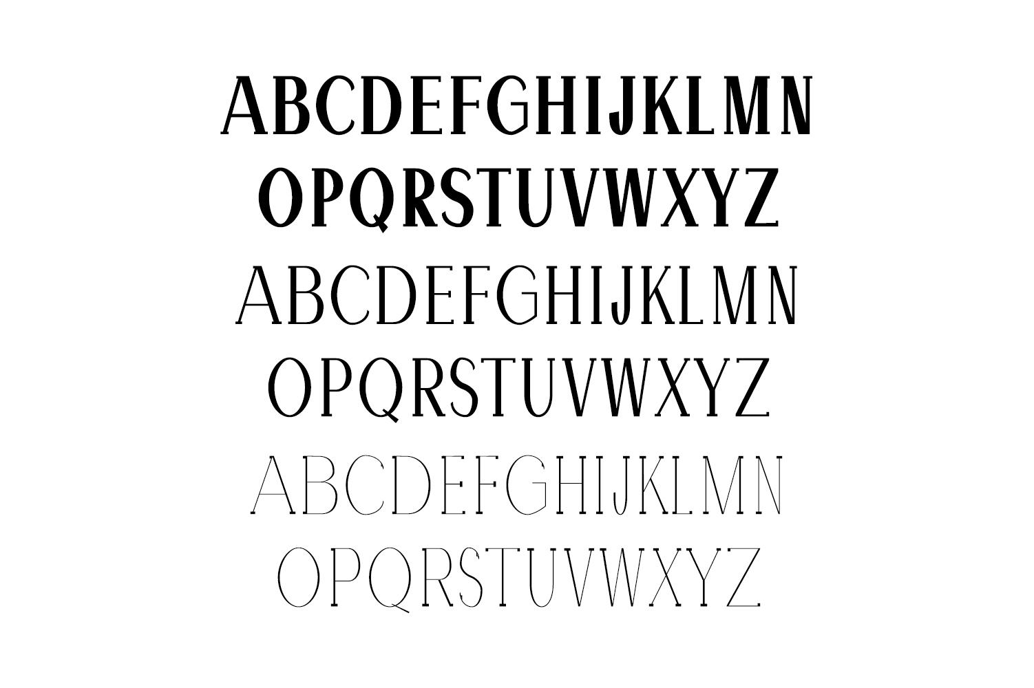 Hommer Minimal Serif Typeface example image 2