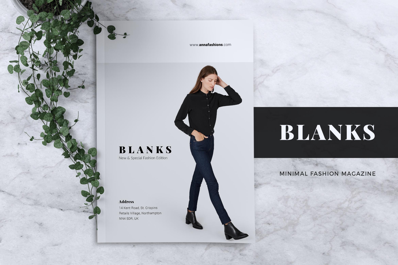 BLANKS   Minimal Lookbook/Magazines example image 2