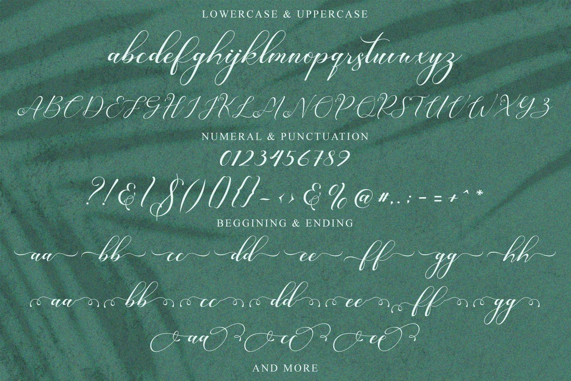 Romansan | Romantic Calligraphy example image 12