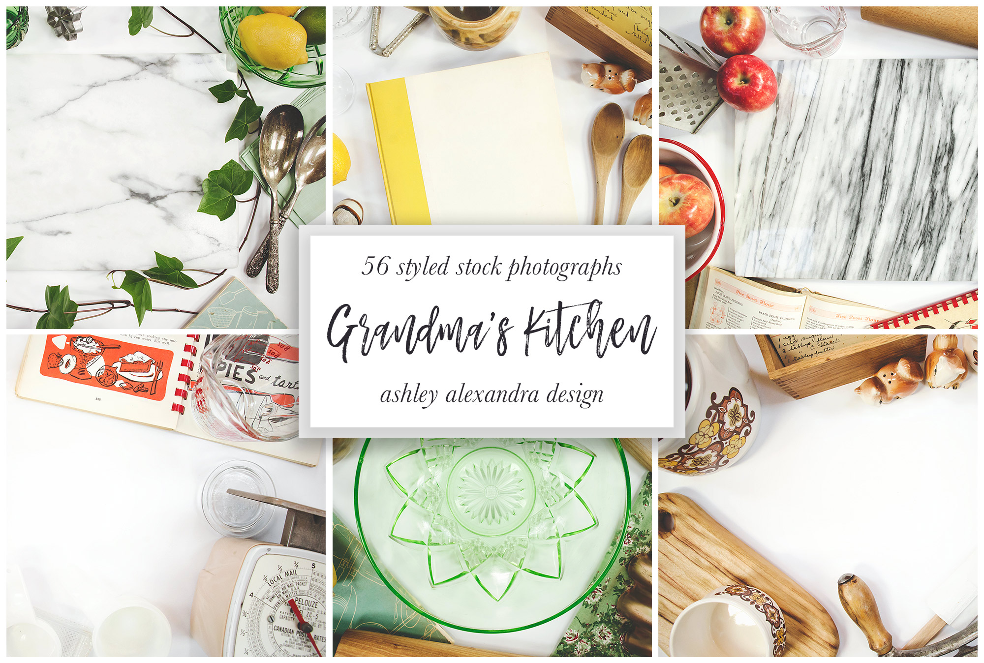 Grandma's Kitchen Stock Photography Bundle example image 2