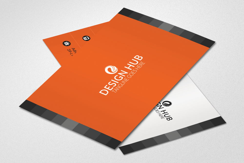Simple Business Cards Template example image 2