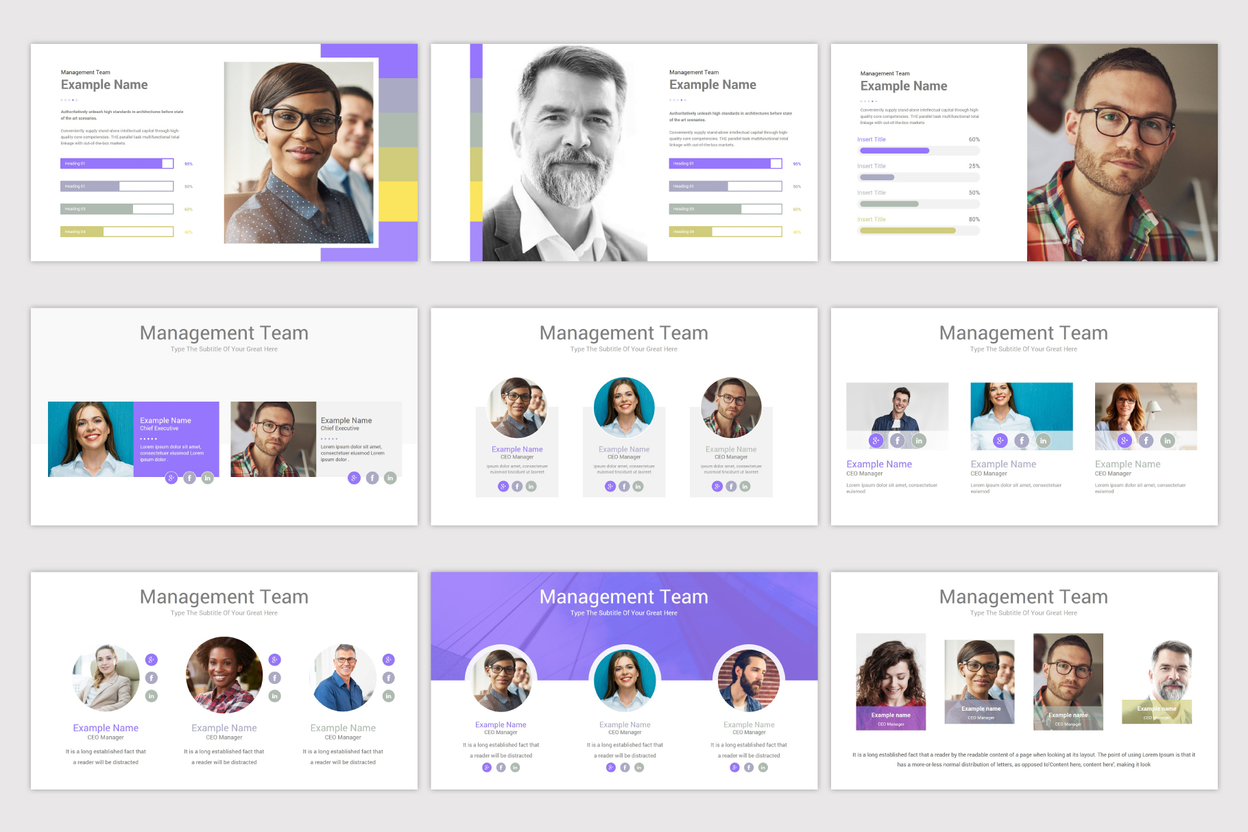 Company Profile Keynote Template example image 12