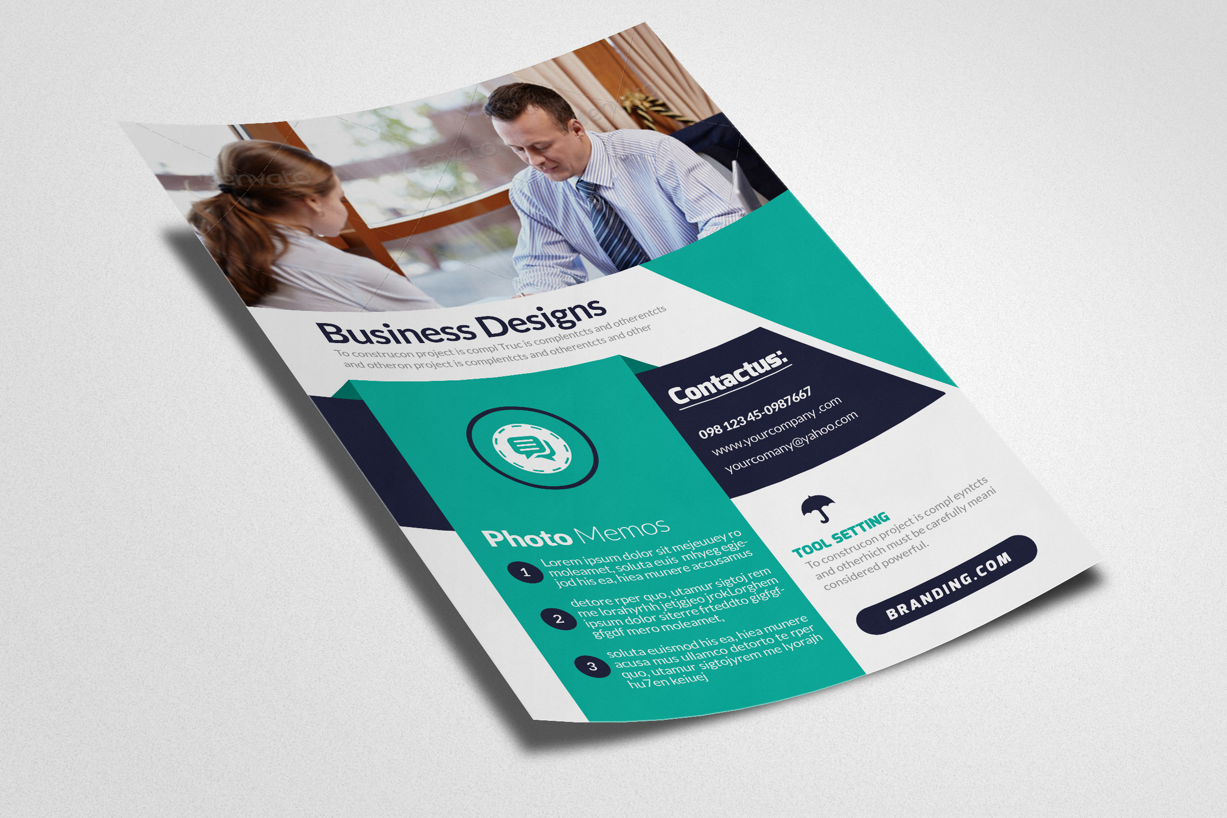 Law Firm Flyer & Ad poster example image 3