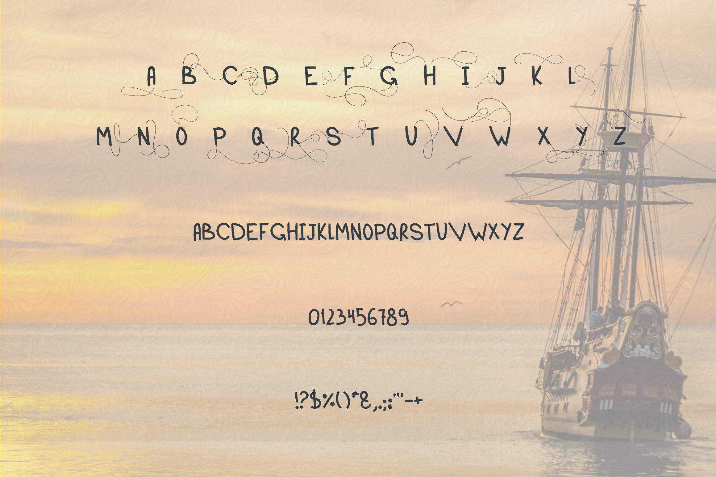Sailor font example image 7