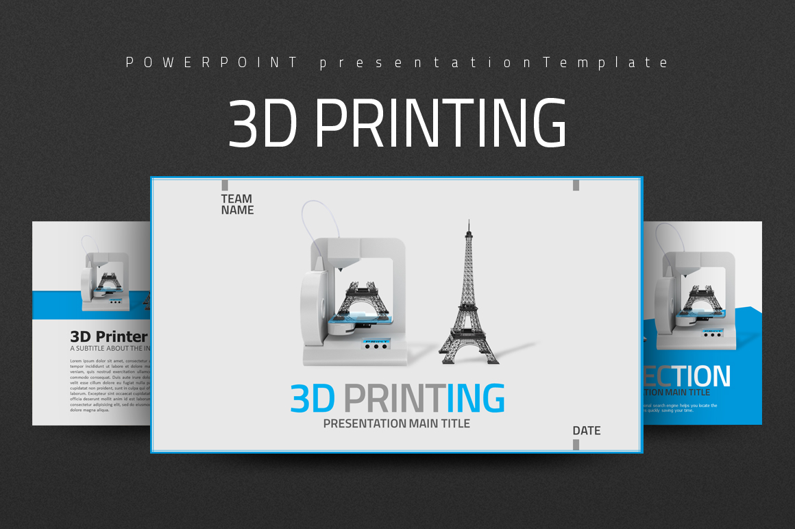 3D Printing PPT example image 1
