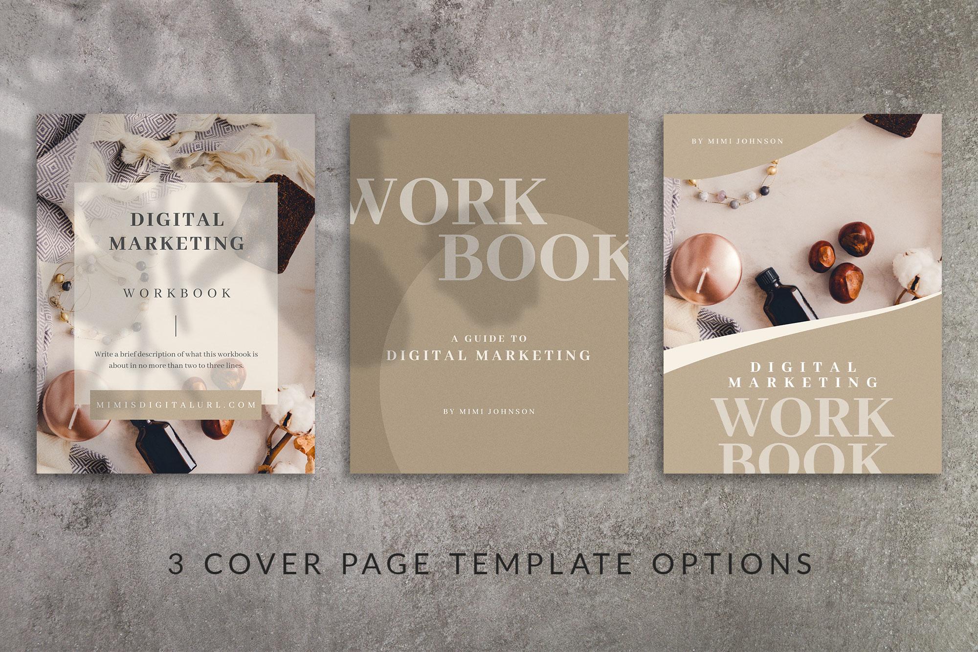 Workbook Canva Template | Mink example image 4