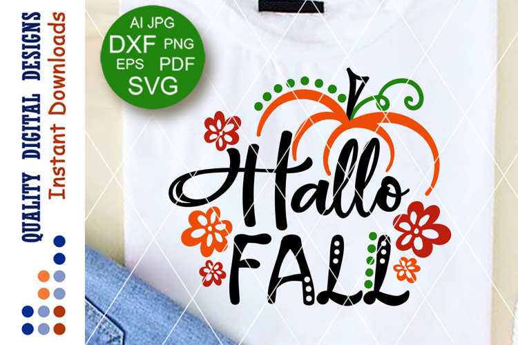 Hallo fall svg Thankful sign Home decor Thanksgiving example image 1