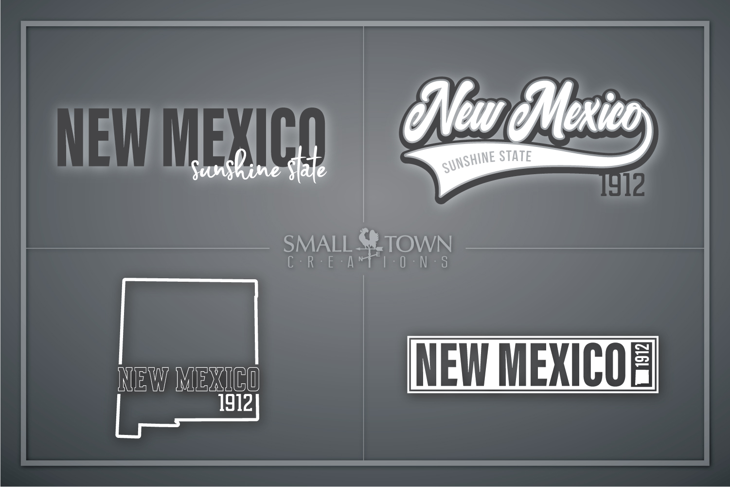 New Mexico, Sunshine State - slogan, PRINT, CUT & DESIGN example image 1